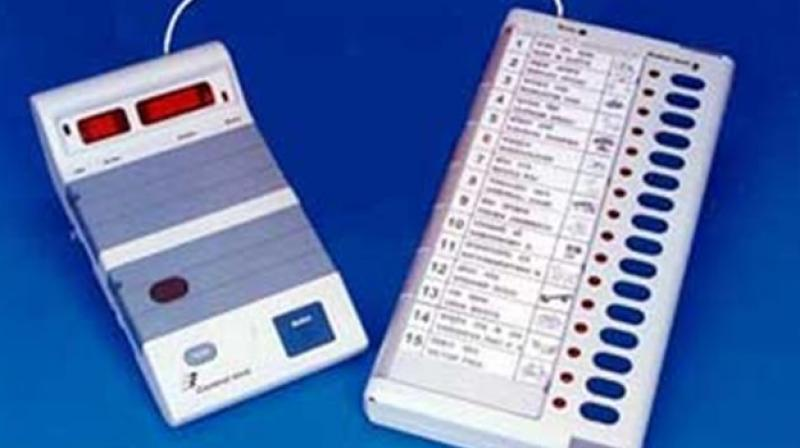 VVPAT is a printer-like machine attached to the EVMs that allows voters to verify if their vote has been cast correctly. (Photo: Representational Image)