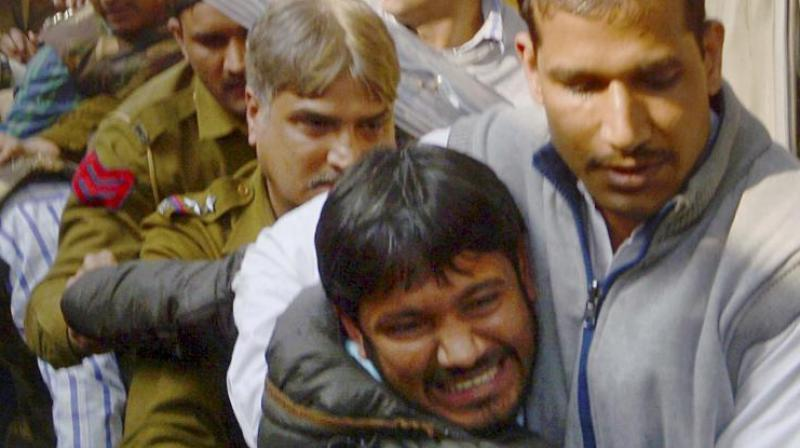 Kanhaiya Kumar was granted bail by Delhi court on Wednesday after police failed to submit evidence of anti national activites against Kumar. (Photo: PTI)