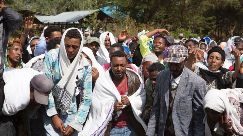 Several people were killed in a stampede at a religious festival in Oromiya region of Ethiopia. (Photo: AFP/Representational)