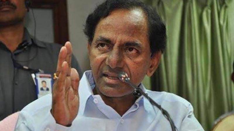 Telangana CM K. Chandrasekhar Rao