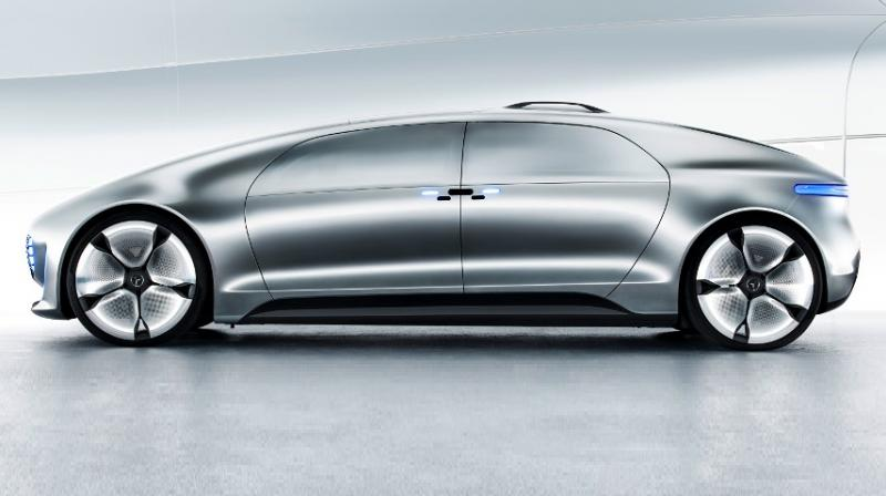 Watch mercedes benz shows off its luxury autonomous car for Mercedes benz watch