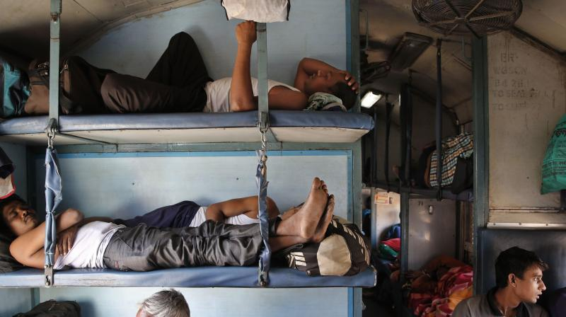 how to board a train in india