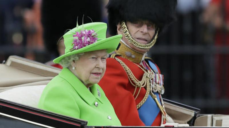 It Was The Queens Unusually Bold Dress And Hat Combination In A Green So Bright As
