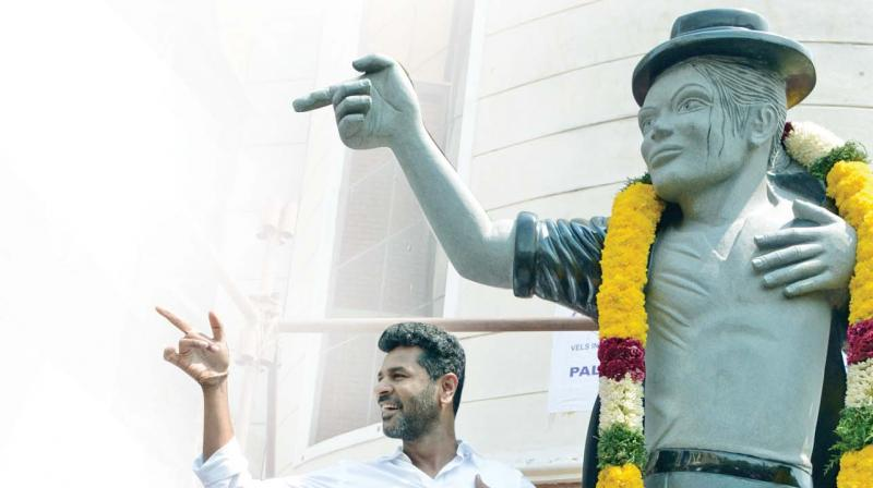 Michael Jackson was my biggest inspiration and continues to be so, says PRABHU DEVA