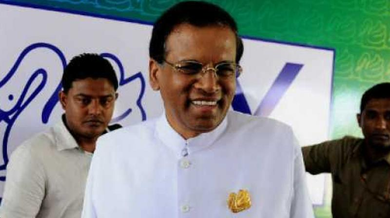 Sri Lanka President Maithripala Sirisena. (Photo: AFP)