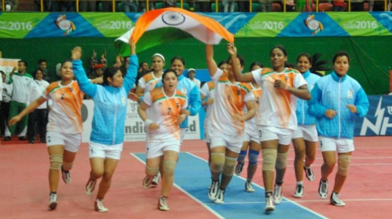 The Indian women's kabaddi team have been winning the gold since the inception of the biennial Games in 2008. (Photo: PTI)