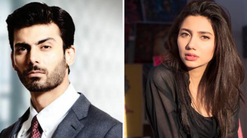 Fawad Khan and Mahira Khan.