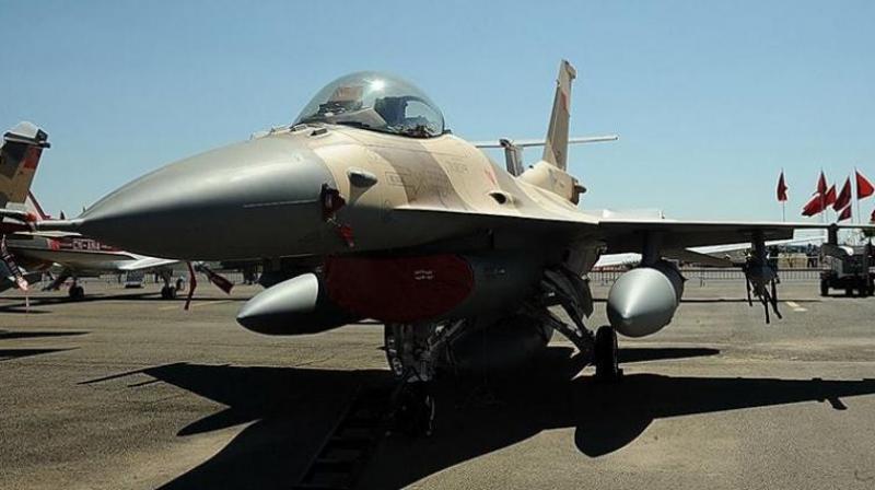 An F-16 fighter jet (Photo: AFP)