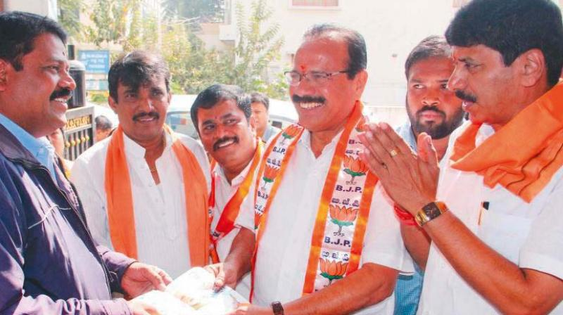 Y.A. Narayanaswamy, BJP candidate for Hebbal