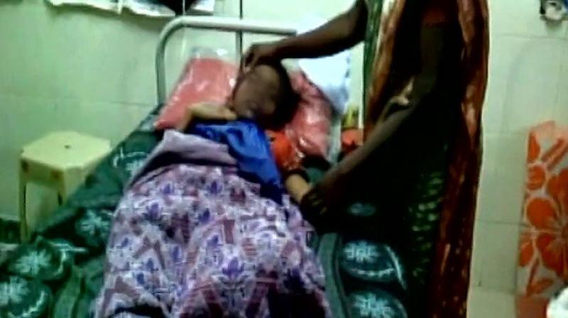 Aswathi was allegedly ragged by senior girl students, also from Kerala, at the women's hostel of the college. (Photo: Twitter/ANI)