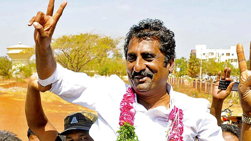 'My department got only Rs 15 crore budget this year and it has just now been released. Of this amount, Rs 13 crore will be paid to clear old bills. How can I carry out various projects across Karnataka with the remaining Rs two crore?' the sports and youth empowerment minister said. (Photo: File)