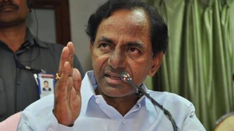 Telagnana Chief Minister K. Chandrasekhar Rao