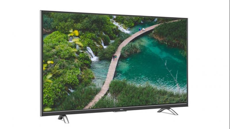 The TCL UHD television reproduces details in all shades of light, via 3840 x 2160 pixels.