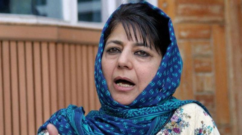 Jammu and Kashmir Chief Minister Mehbooba Mufti . (Photo: PTI)