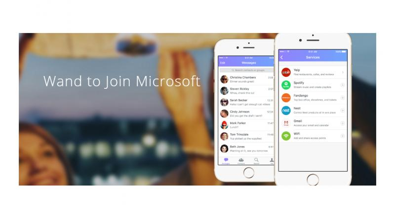Microsoft acquires Indian-American's messaging app maker