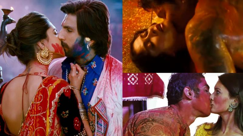 Bollywood stars paint their love with the colours of Holi.