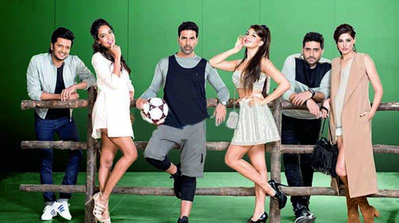 A still from the movie Housefull 3