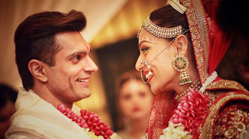 Bipasha Basu tied the knot with beau Karan Singh Grover in an intimate Bengali ceremony, that was followed by a grand Bollywood style reception. Here's a look at everything that went on at the #monkeywedding.