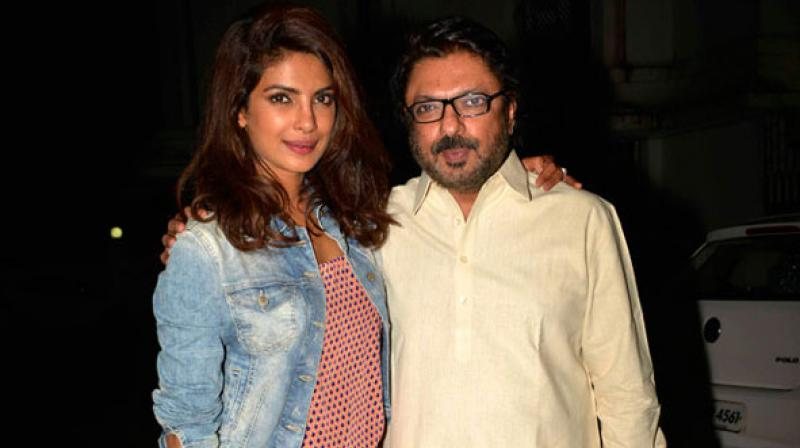"A source from the industry revealed, ""Bhansali is producing a couple of films and for one of them he has approached Priyanka."