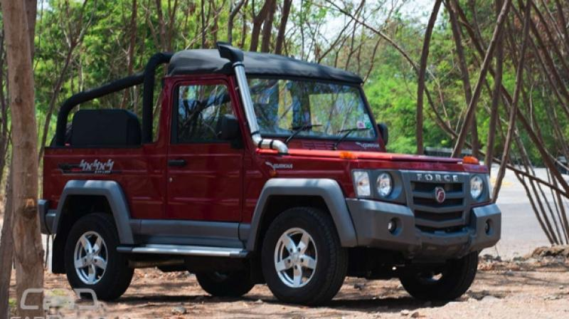 Force Gurkha To Be Sold In Metros