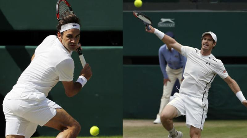 Roger Federer and Andy Murray have to get past Milos Raonic and Tomas Berdych respectively to set up a final clash. (Photo: AP)