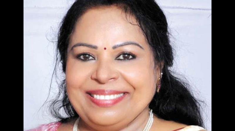 Shobhana George May Contest As Rebel In Chengannur-6766