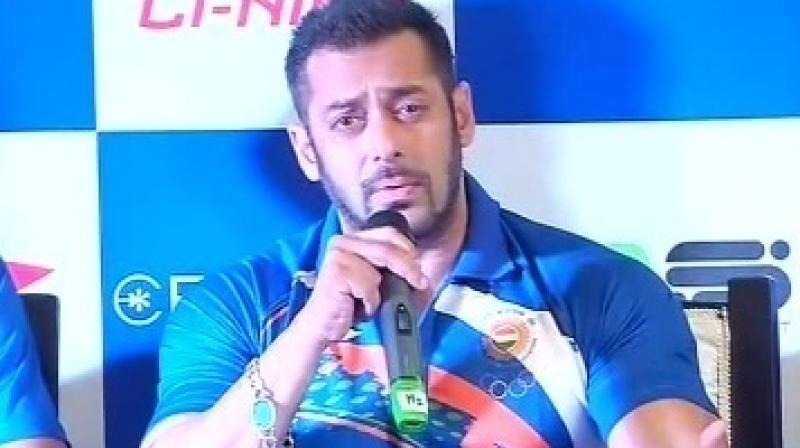 Cricket is often blamed for less popularity of other sports but Salman believes people themselves don't watch other games.