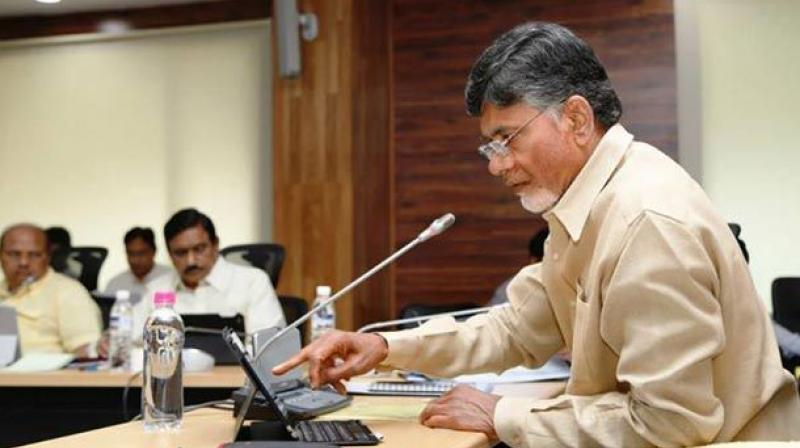 Andhra Pradesh CM Chandrababu Naidu. (Photo:PTI)