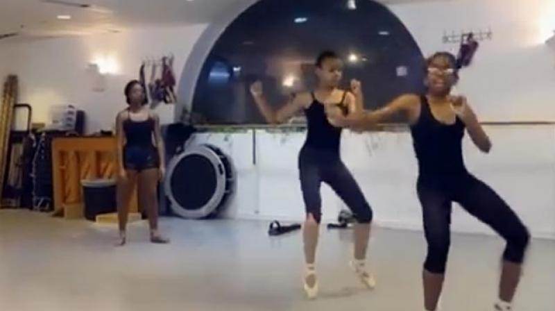 These incredible dancers are doing ballet in a whole new way. (Photo: Screen grab)