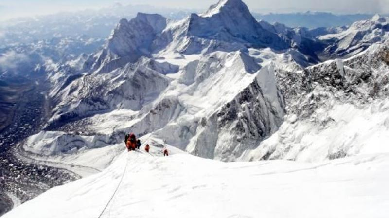 He was the third to die on Everest in recent days, after an Australian and a Dutch climber succumbed to altitude sickness. Another two climbers have died on other peaks.