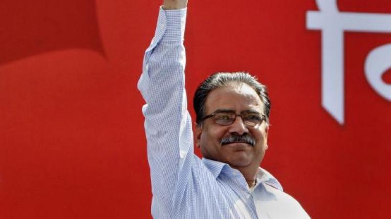 Maoist chief Prachanda is the new Nepal PM. (Photo: AP)