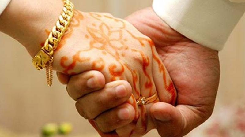 The groom Rizvan was scheduled to marry Nagma on Wednesday but his family objected over not serving non-vegetarian food. (Representational image)