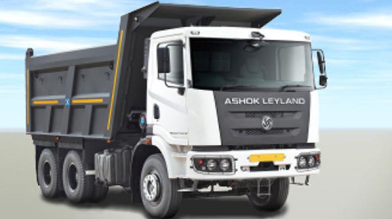 Ashok Leyland sales up 51 pc in May at 13,659 units