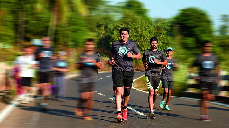 Jagdish Damania, one of the founders of Mera Terah Run is an ultra-runner and a software professional.