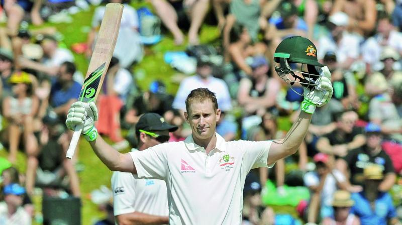 Adam Voges has moved up to ninth place in the ICC Test rankings.