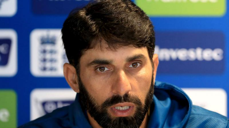 If Pakistan commit another minor over-rate breach in a Test within 12 months of this offence with Misbah-ul-Haq as captain, it will be deemed a second offence by Misbah and he will face a suspension. (Photo: AP)