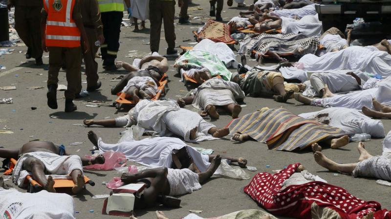 At least 2,297 pilgrims died during the stampede on September 24, according to data from foreign officials. (Photo: AFP)