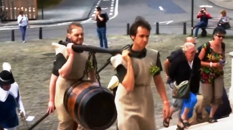 Saint Arnould was the son of a brewer and therefore learned the secrets of brewing at an early age (Photo: YouTube)