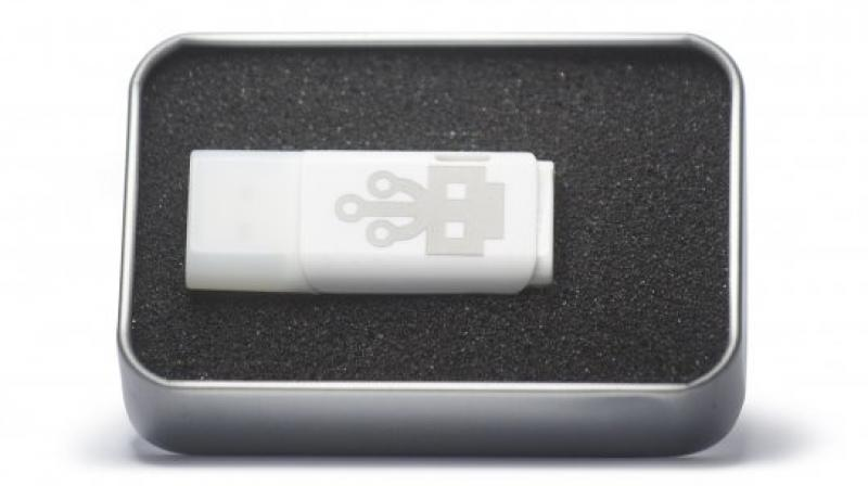 The thumb drive named USB Kill 2.0 is a testing device created to test USB ports against power surge attacks.
