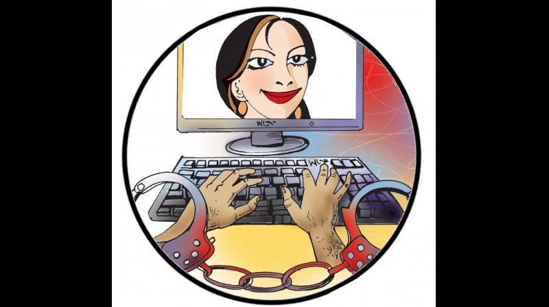 Refrain from giving out personal information in your profile. (Representational image)