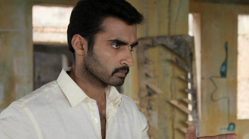 Nandha plays the role a police inspector in 'Kallattam'.