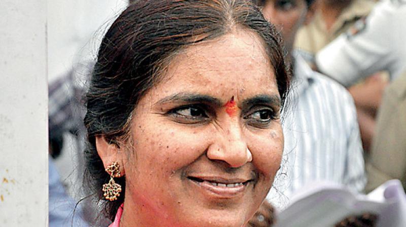 Image result for పద్మా దేవేందర్