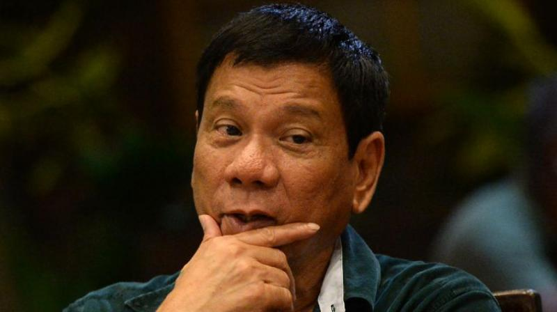 Philippines President Rodrigo Duterte. (Photo: AFP)