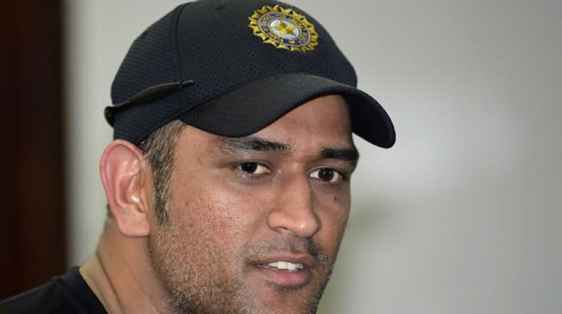 The 34-year-old Dhoni had called time on his Test career in the middle of the away series against Australia in December 2014. (Photo: AFP)
