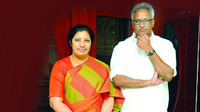 Purandeswari and Dr Daggubati Venkateswara