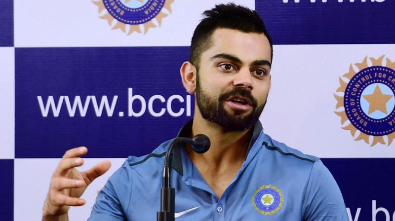 Virat Kohli dropped enough hints to indicate Mohammed Shami will play the first Test against West Indies. (Photo: PTI)