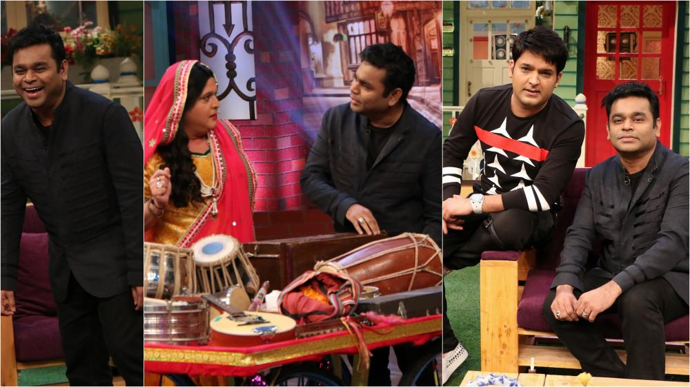 A R Rahman has a fun time on Kapil Sharma's show