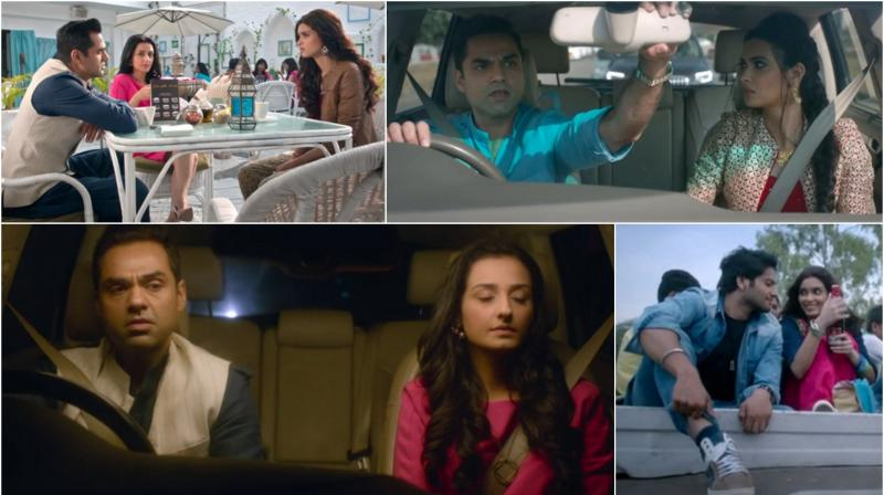 Stills from the song