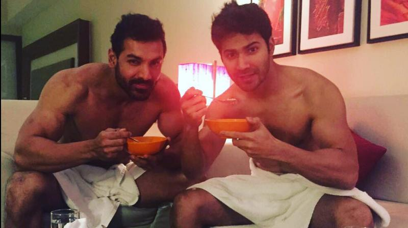 Double Trouble Varun Dhawan And John Abraham Have