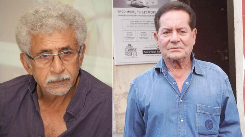 Salim Khan slams Naseeruddin Shah for calling Rajesh Khanna a 'poor actor'